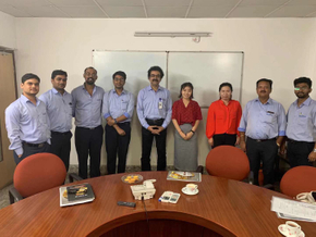 Hanhai buld a partnership with refractory factory in India